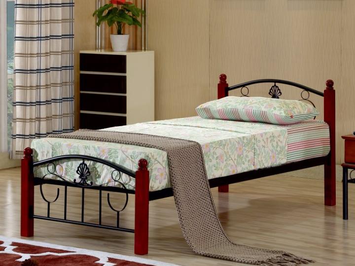 Jednolôžková posteľ 90 cm Magenta (s roštom)