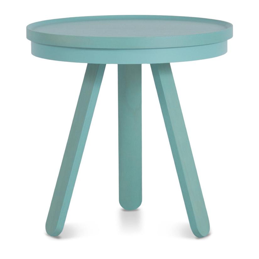 Zelený odkladací stolík Woodendot Batea S