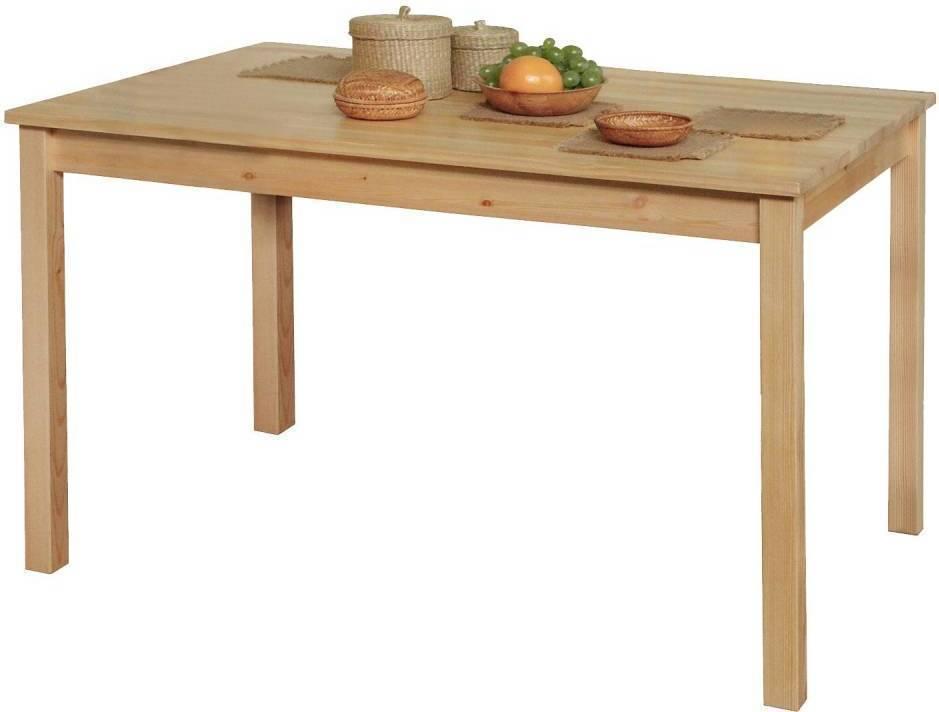 Jedálenský stôl 7848 nelak