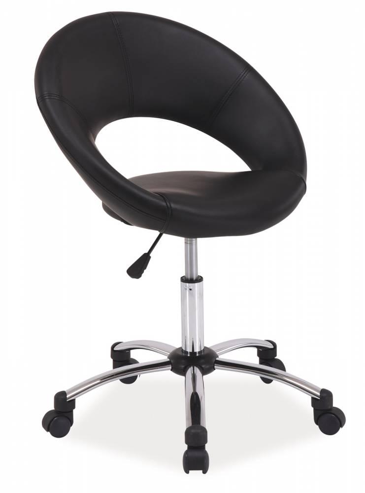 Kancelárske kreslo Q-128 (ekokoža čierna)