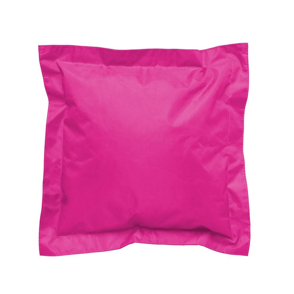 Ružový vonkajší vankúšik Sunvibes, 45×45 cm