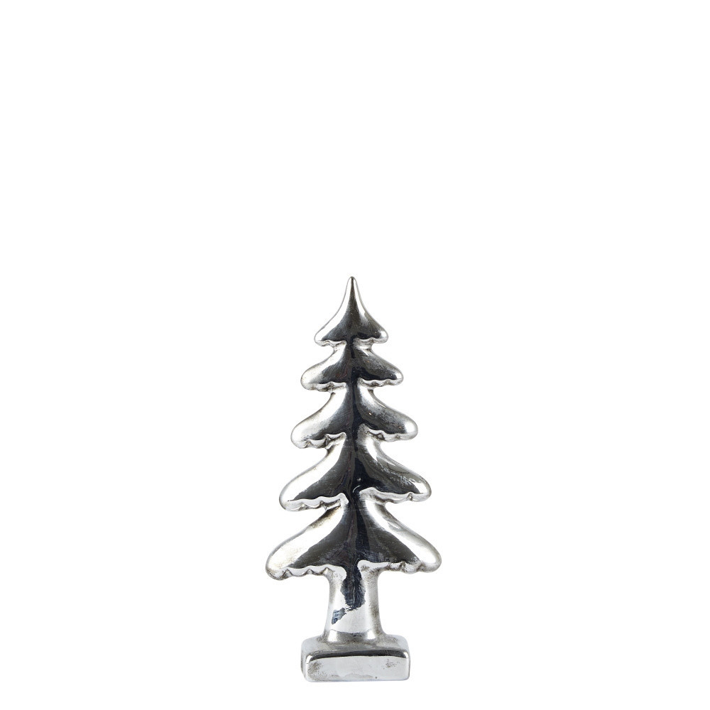 Dekoratívny stromček KJ Collection Silver, 18 cm