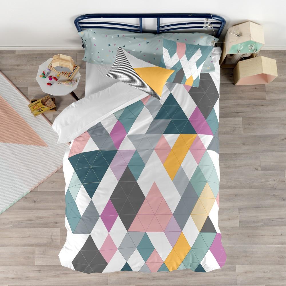 Set obliečky na prikrývku a vankúš s potlačou Baleno Glitzy, 140×200 cm