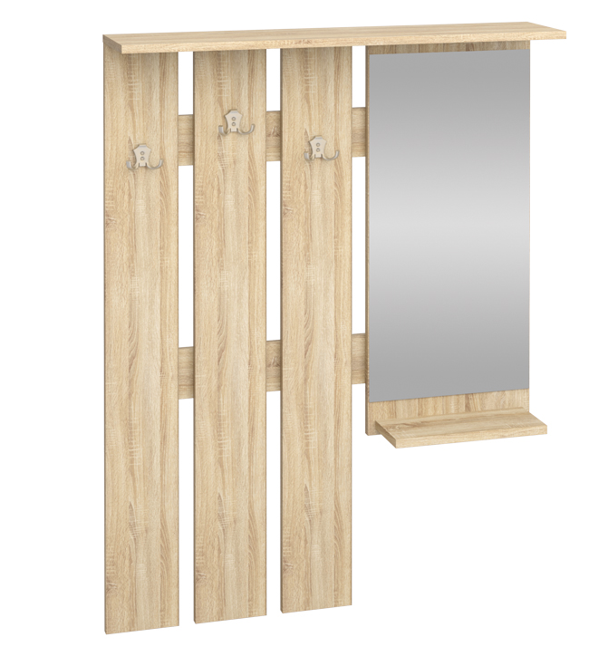 Vešiakový panel W 90-01L   Farba: dub sonoma