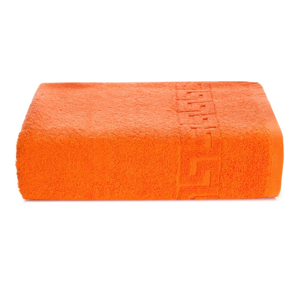 Oranžová bavlnená osuška Kate Louise Pauline, 70 x 140 cm