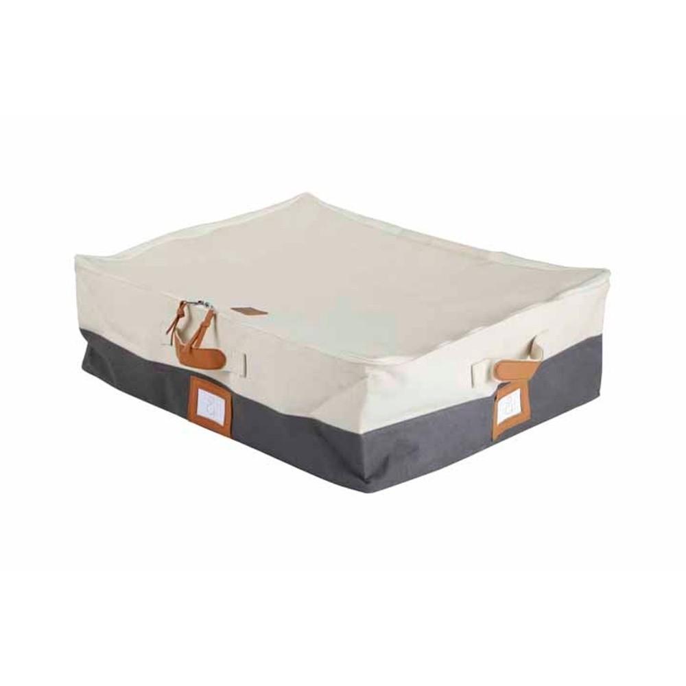 Veľký úložný bavlnený box na zips Hawke&Thorn Paxton