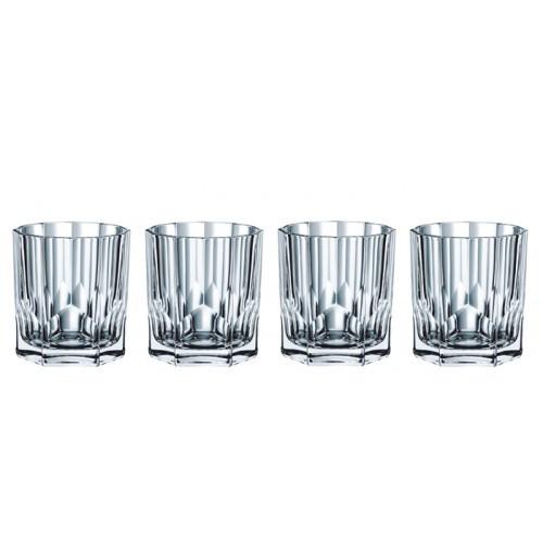 Sada 4 pohárov na whisky Nachtmann Aspen