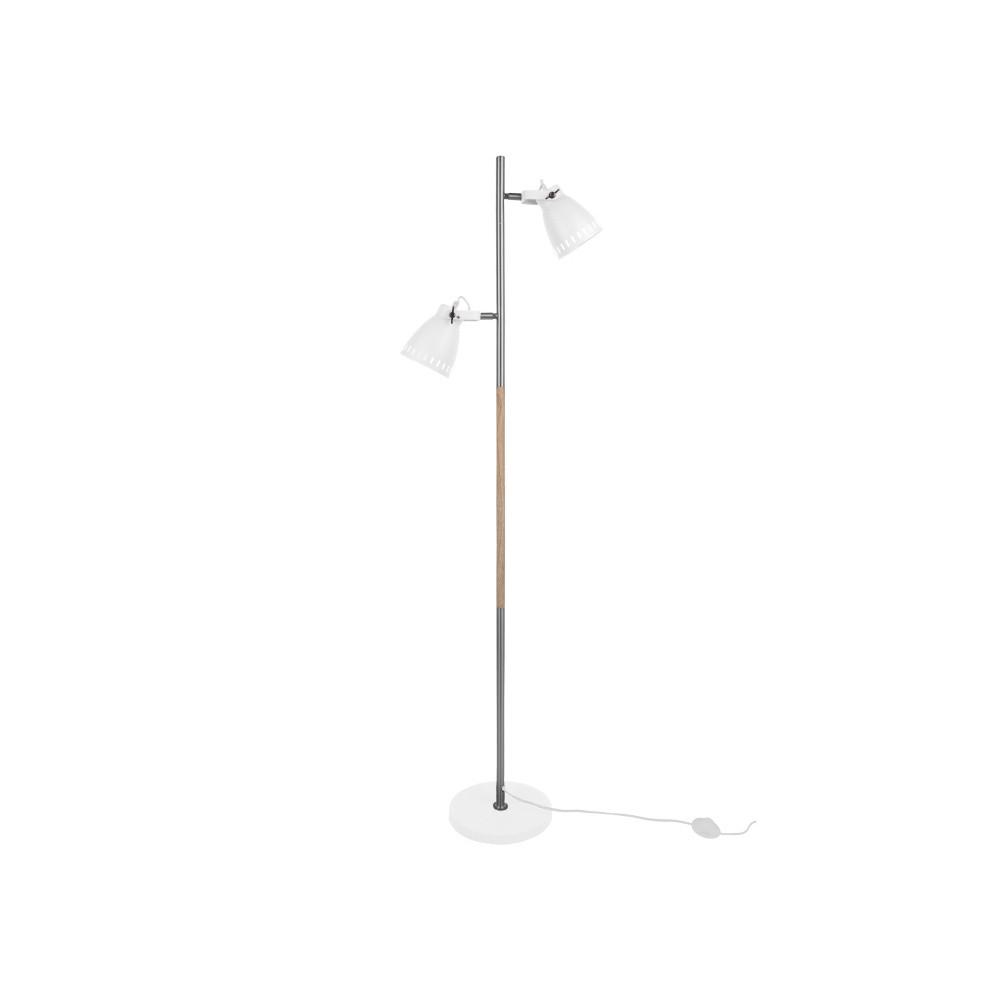 Biela voľne stojacia lampa Leitmotiv Mingle