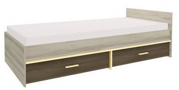 Detská posteľ GEOMETRIC 07 / BREST / AGÁT   Farba: Žltá