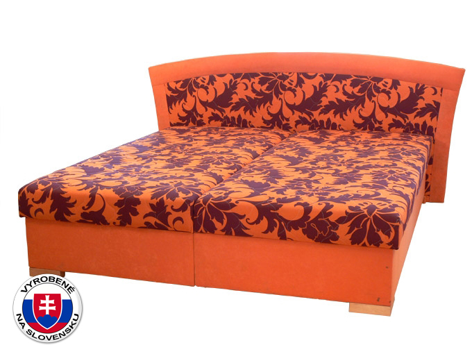 Manželská posteľ 160 cm Pescara (so sendvičovým matracom)