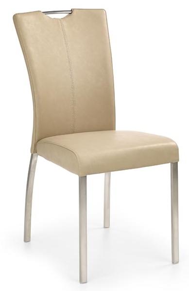 Jedálenská stolička K178 tmavobéžová
