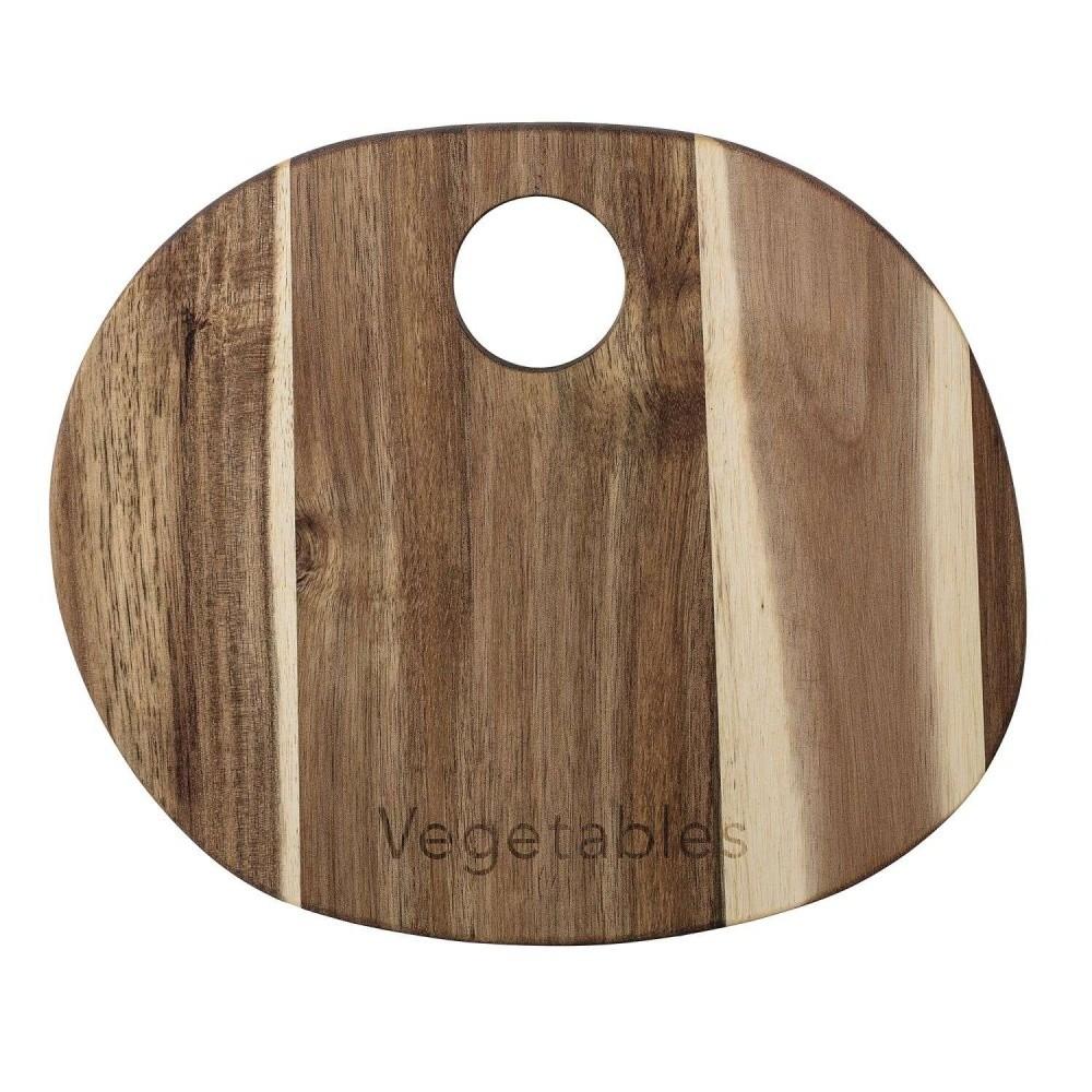 Doštička na krájanie z akáciového dreva Bloomingville, 30×22 cm