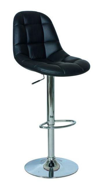 Barová stolička CB-198, čierna