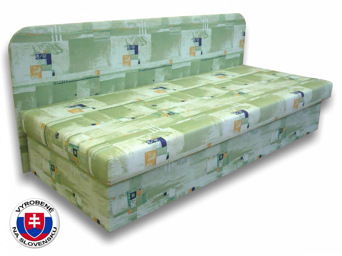 Jednolôžková posteľ (váľanda) 80 cm Lux IV (Čajka 2)