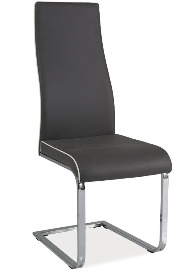 HK-832 jedálenská stolička, sivá