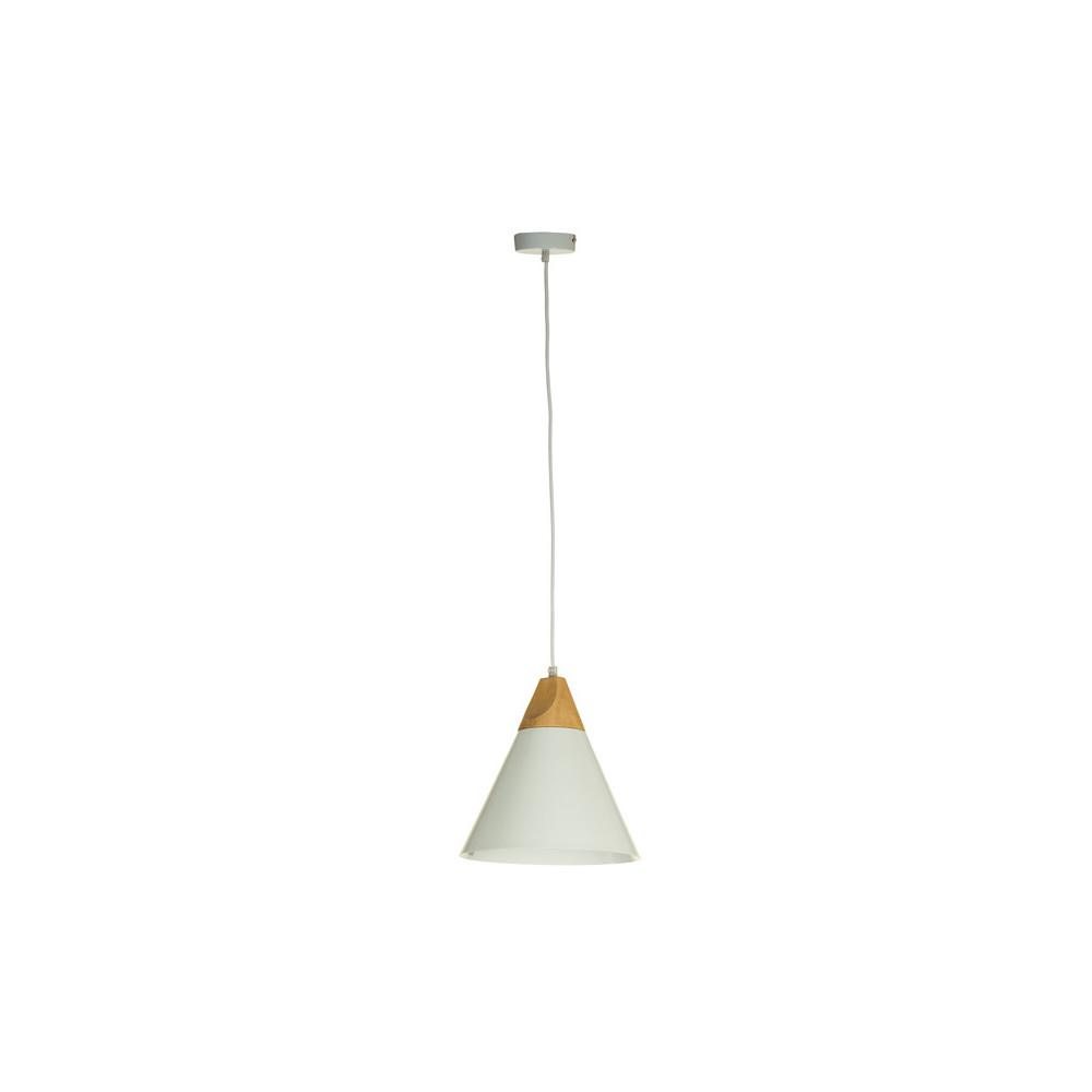 Biele stropné svietidlo Santiago Pons Kuma