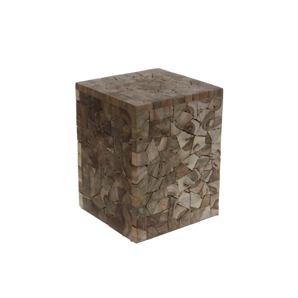 Stolička z teakového dreva HSM Collection Tempel