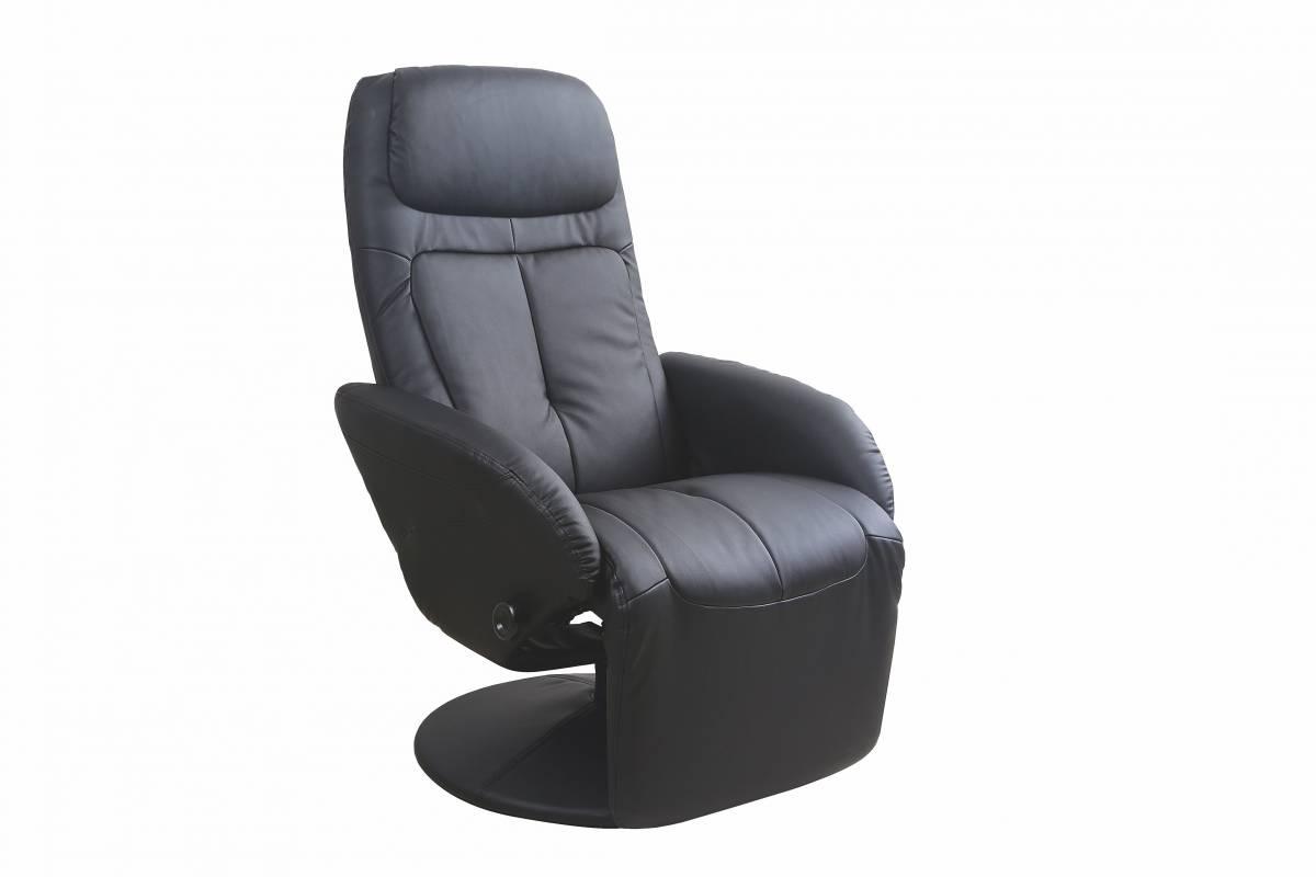 Relaxačné kreslo Optima (čierna)