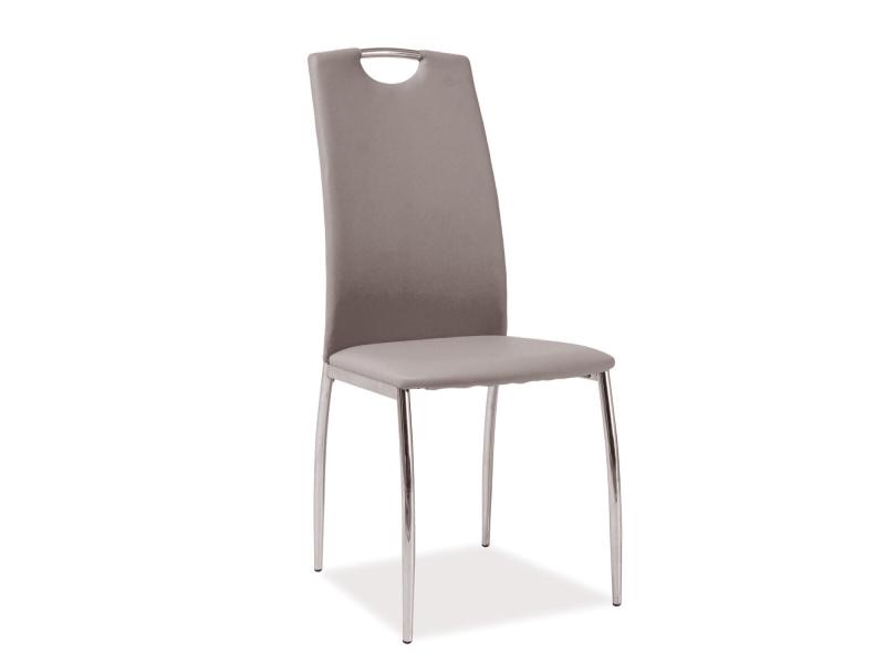 Jedálenská stolička H-622 (ekokoža tmavobéžová)