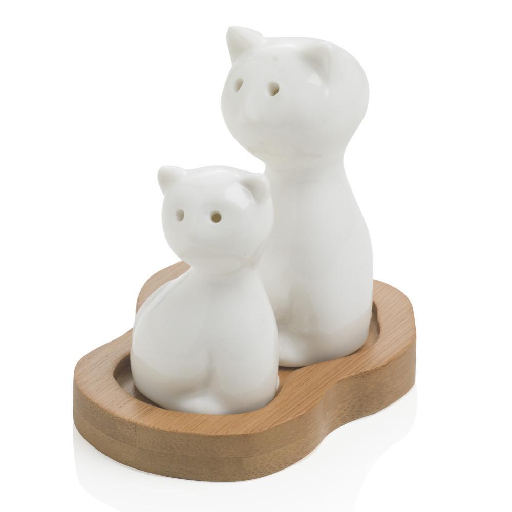Soľnička a korenička Brandani Cat