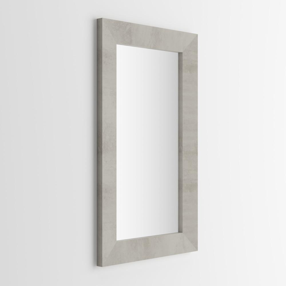 Zrkadlo v dekore betónu MobiliFiver Giuditta, 65x110cm