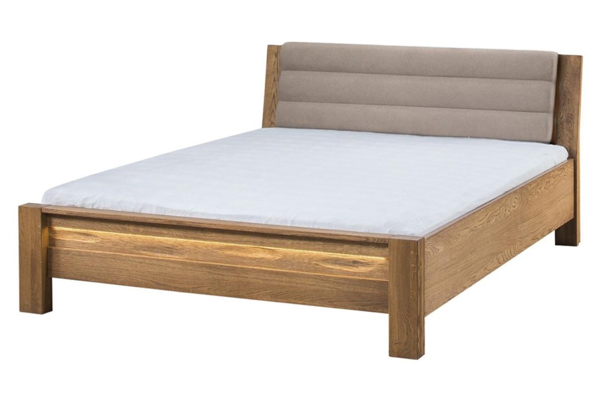 Nabytok-Bogart Velvet 76 - posteľ do spálne latte