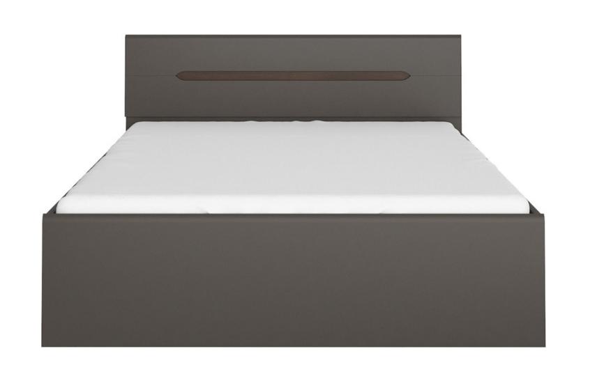 Manželská posteľ Elpasso LOZ/160   Farba: šedý wolfram
