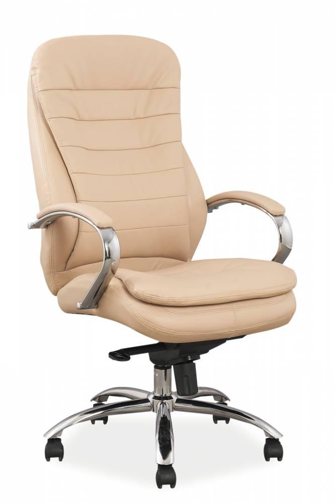 Kancelárske kreslo Q-154 (ekokoža béžová)