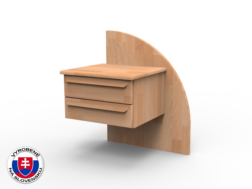 Nočný stolík z masívu Petra pravý
