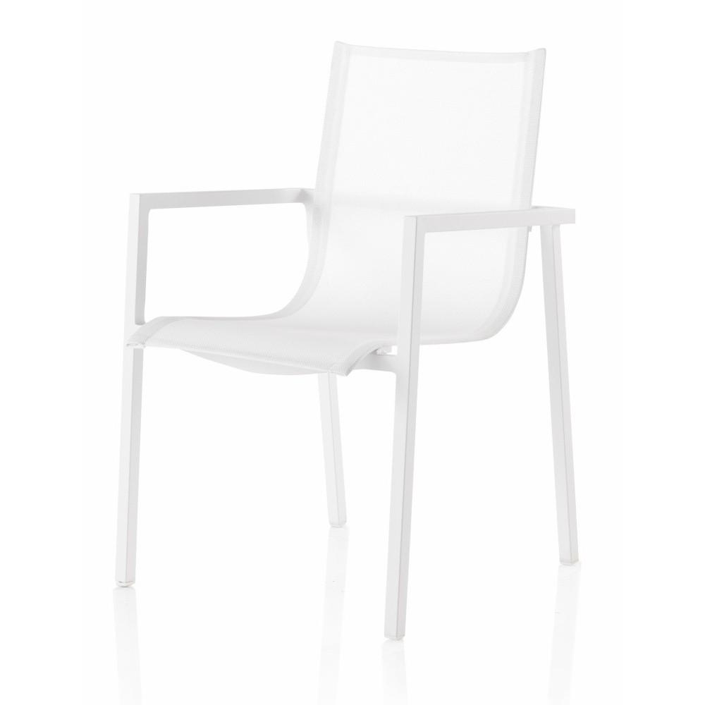 Záhradná stolička s opierkami Geese Jenny