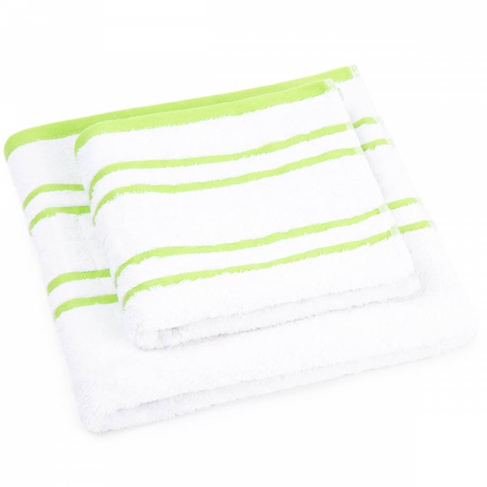 Profod Sada uteráka a osušky Snow zelená, 50 x 100 cm, 70 x 140 cm