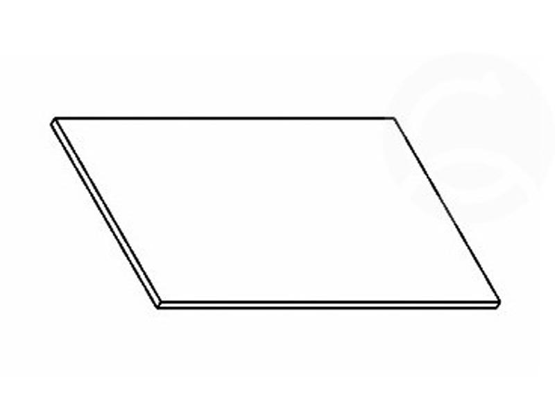 Pracovná doska vhodná pre kuchyňu FALA, NORA alebo PREMIUM, šírka 60 cm