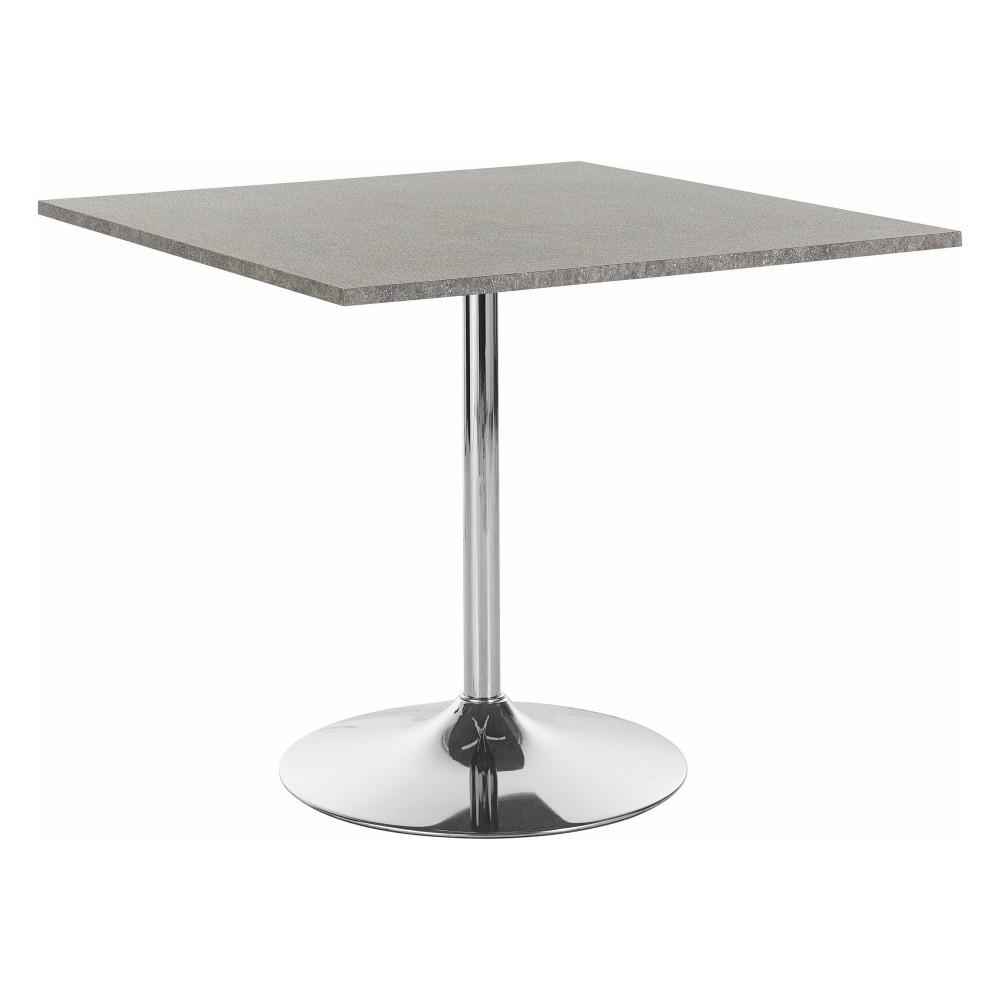 Jedálenský stôl so sivou doskou Støraa Trent