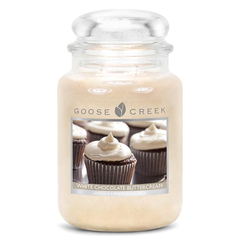 Vonná sviečka v sklenenej dóze Goose Creek Biela čokoláda, 0,68 kg