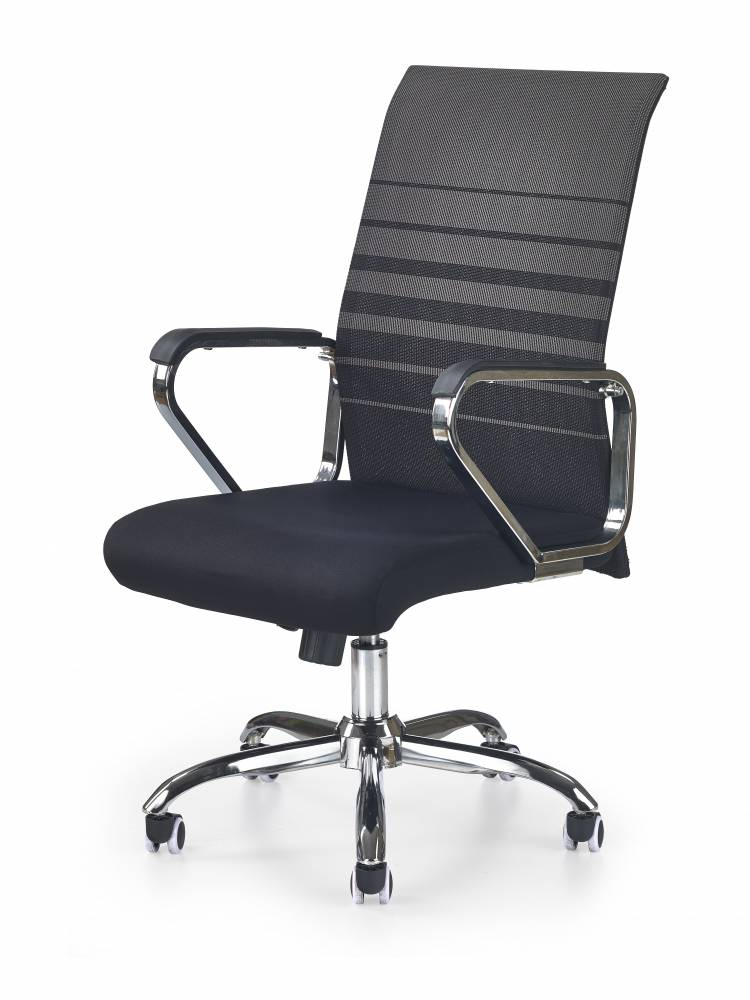 Kancelárska stolička Volt (čierna + sivá)