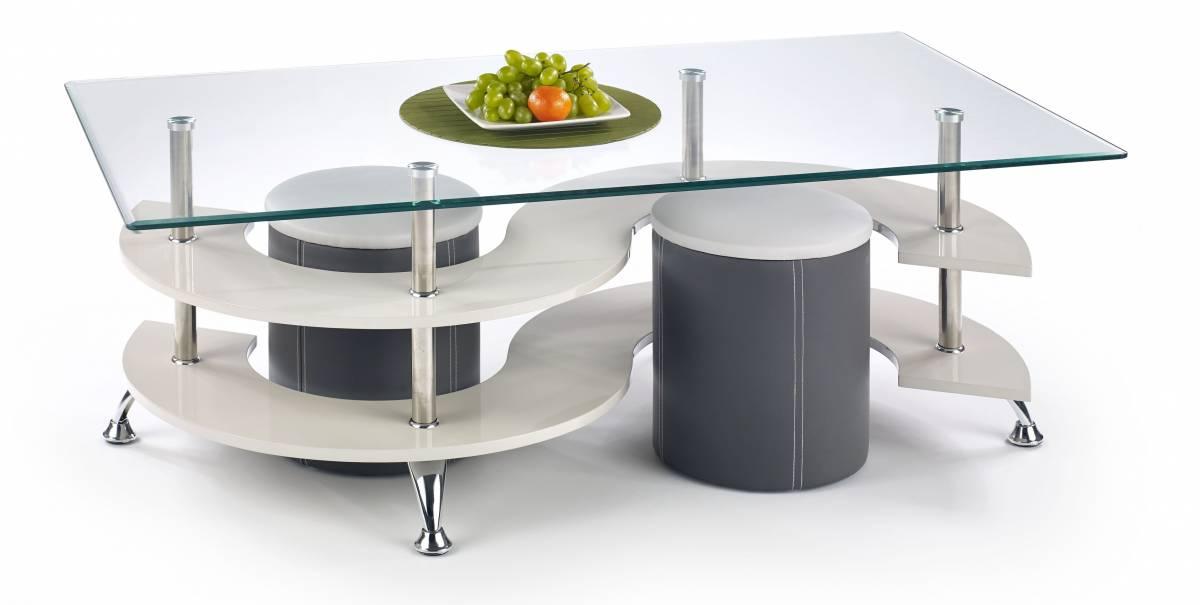 Konferenčný stolík NINA 5 (s taburetkami)