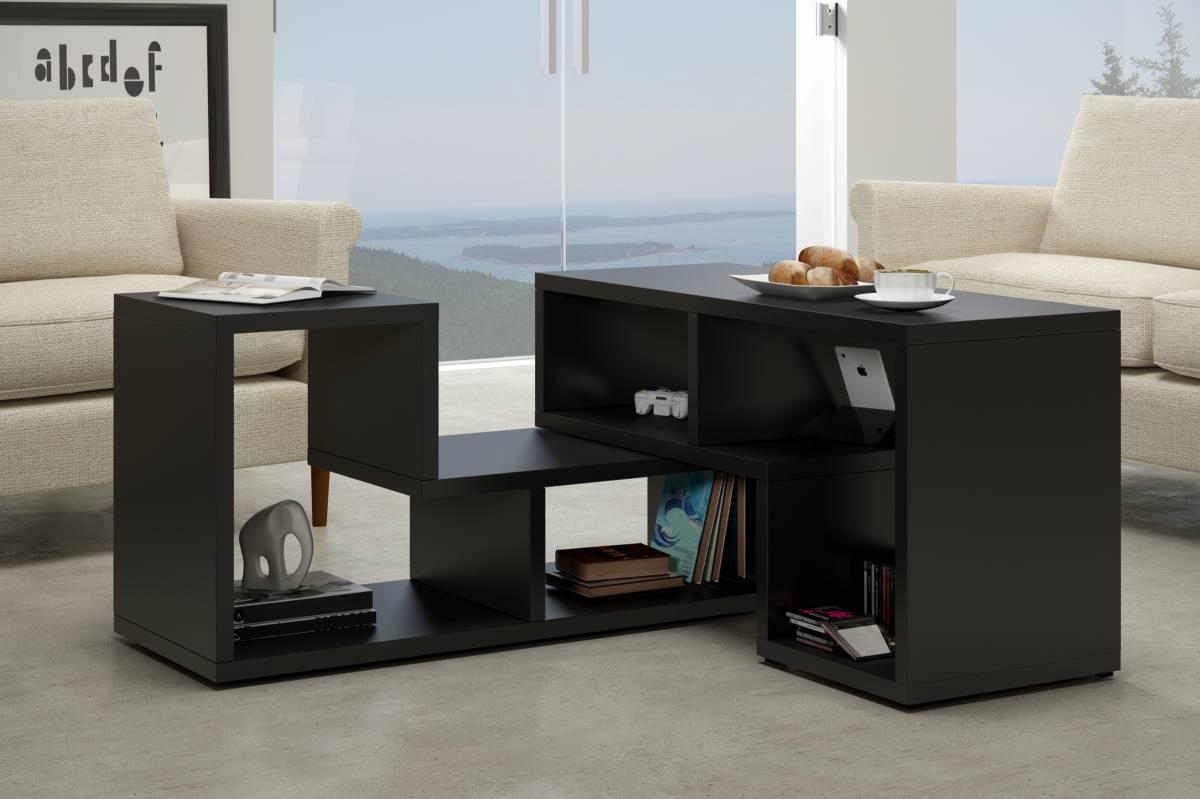 Konferenčný stolík Top čierna