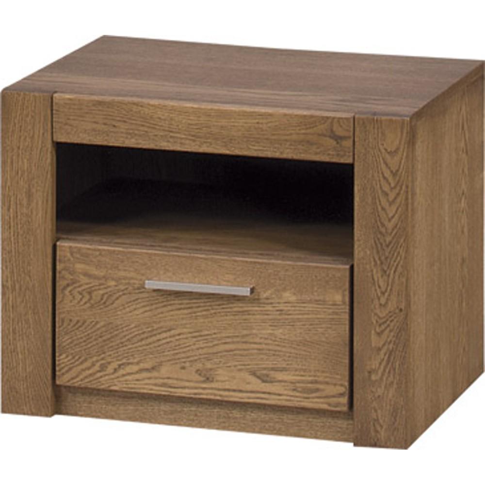Nočný stolík z dubového dreva Szynaka Meble Velvet