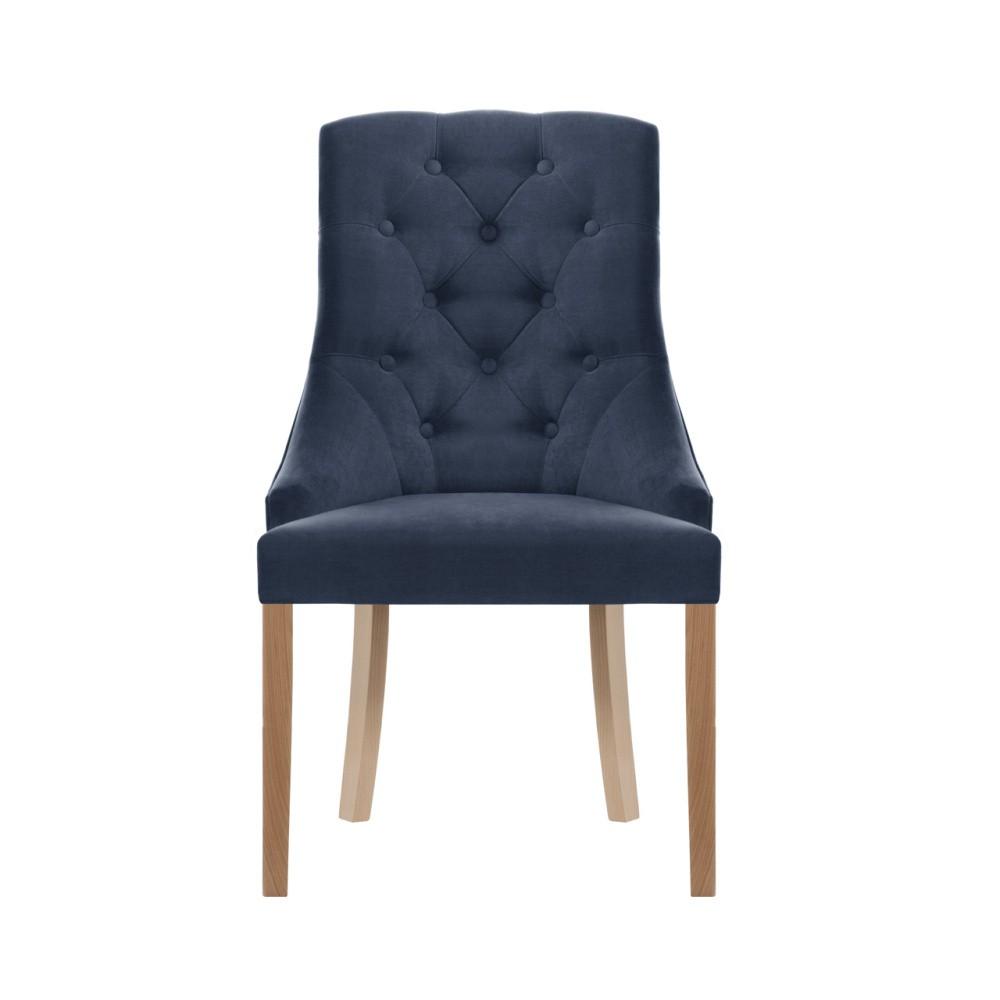 Modrá stolička Jalouse Maison Chiara