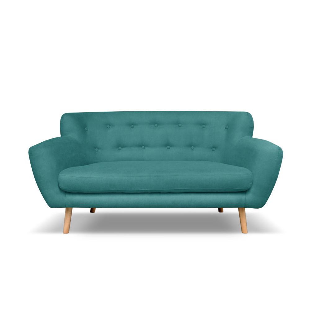 Tmavozelená pohovka pre dvoch Cosmopolitan design London