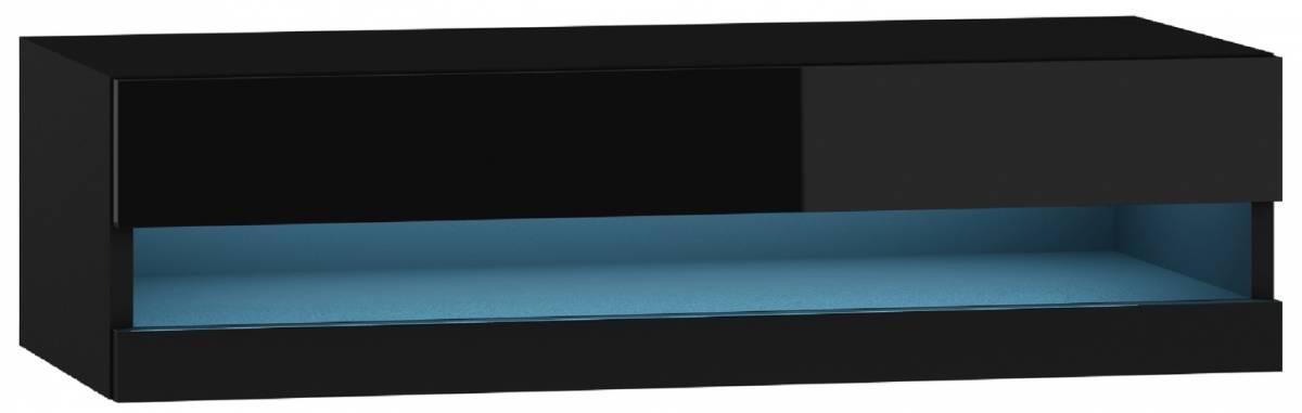 TV stolík/skrinka Vigo rtv 180 otvorená LED (s osvetlením)