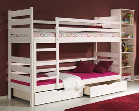 DAREK detská poschodová posteľ
