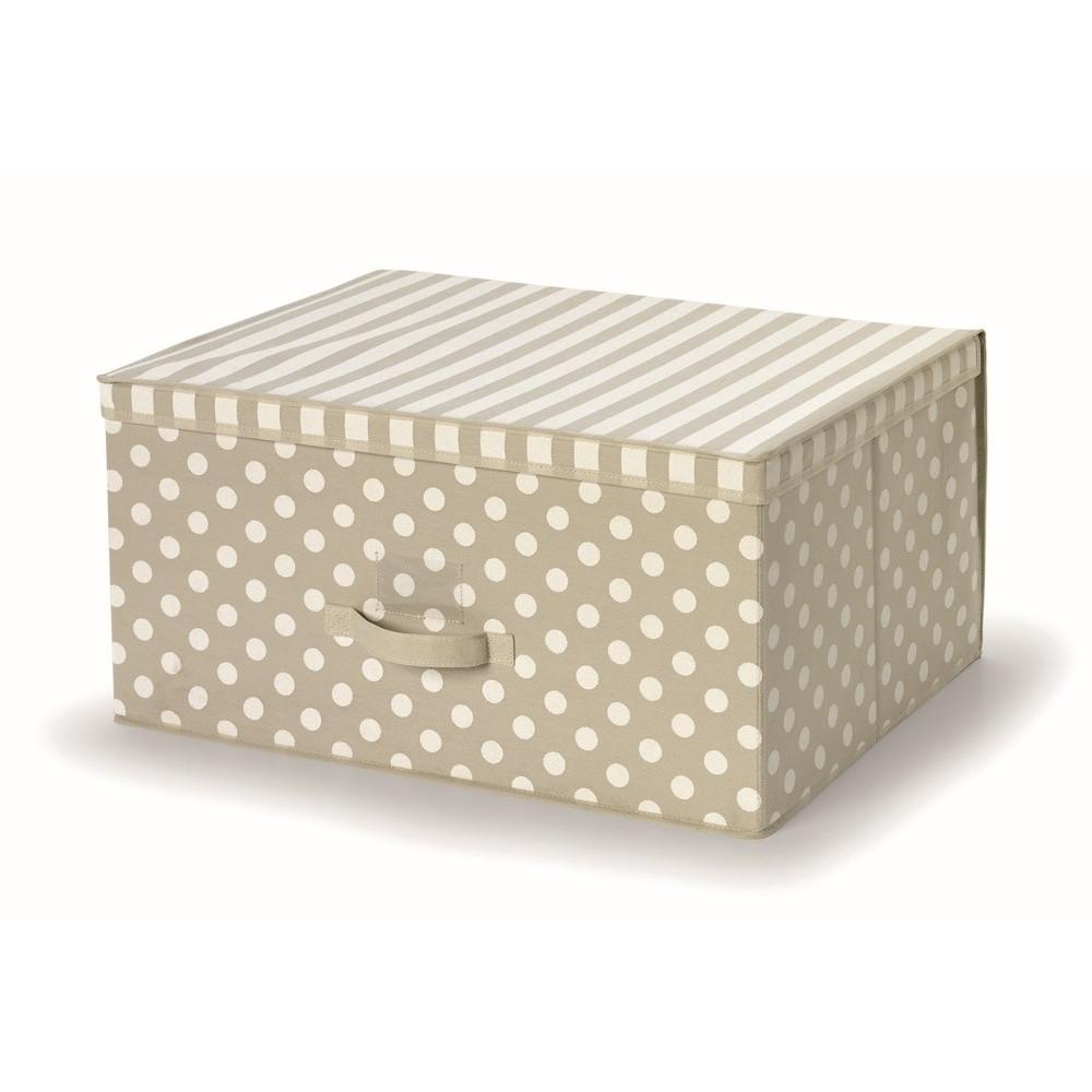 Hnedý uložný box s vrchnákom Cosatto Trend, 45 x 60 cm