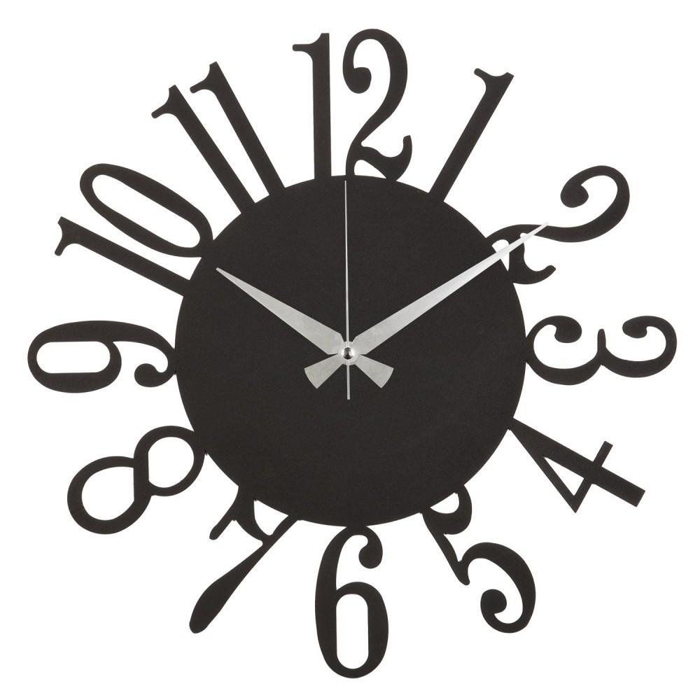 Kovové nástenné hodiny Fourteen