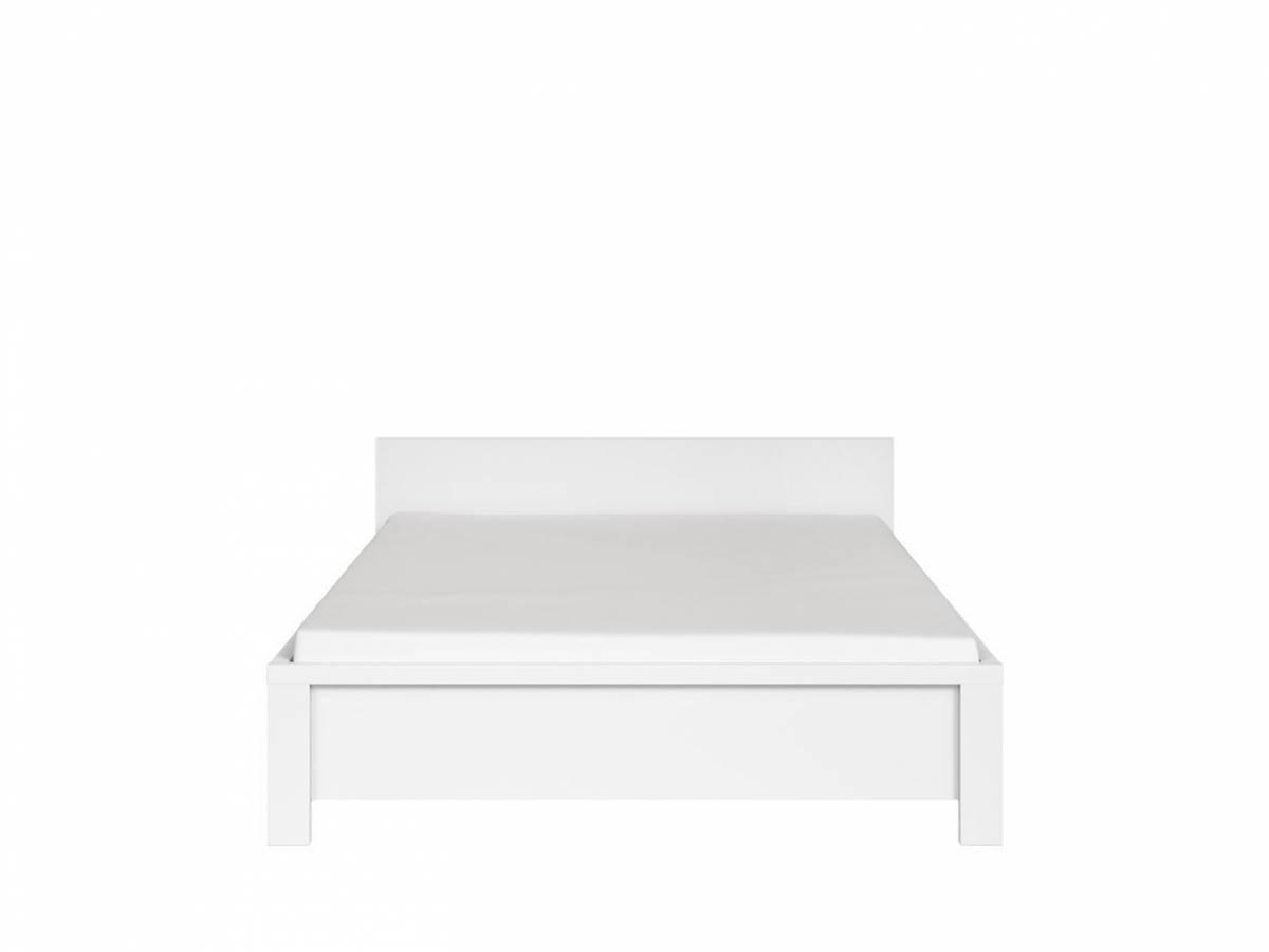 Manželská posteľ 140 cm Kaspian LOZ/140 (biela)