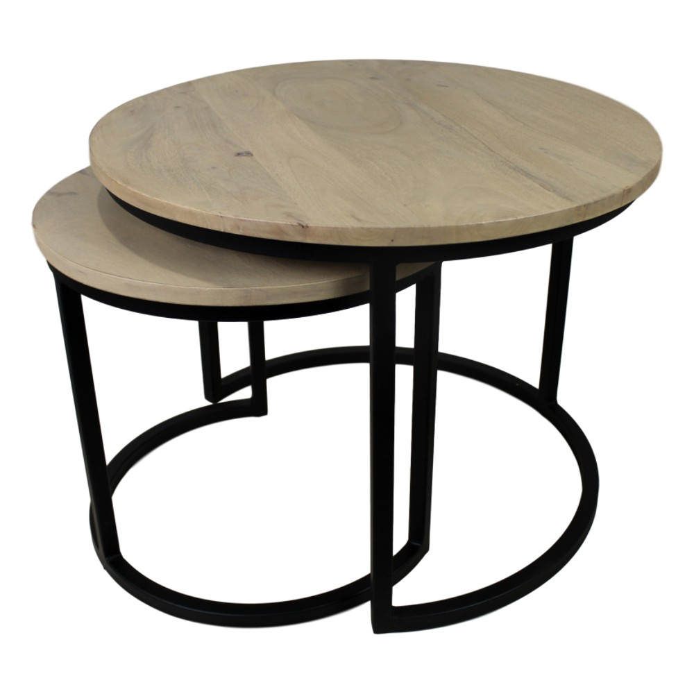 Sada 2 konferenčných stolíkov HSM collection Ronin, 70×46cm