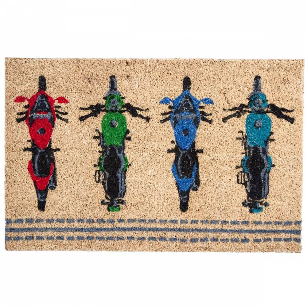BO-MA Kokosová rohožka Moto, 40 x 60 cm
