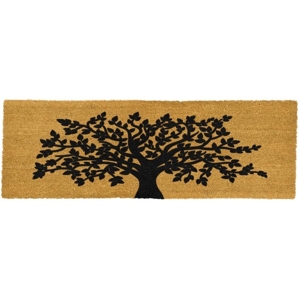 Dlhá rohožka Artsy Doormats Tree Of Life, 120x40cm