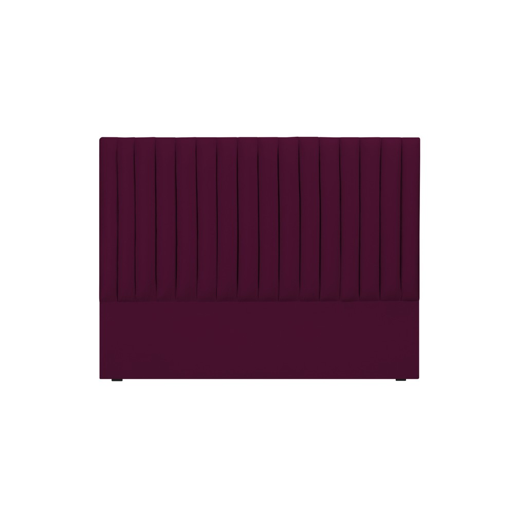Burgundovočervené čelo postele Cosmopolitan design NJ, 160×120 cm