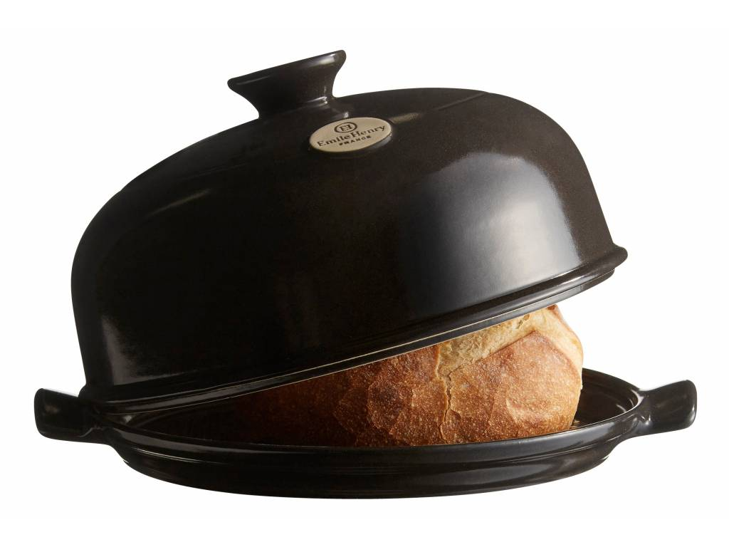 Forma na pečenie chleba antracitová Charcoal, Emile Henry